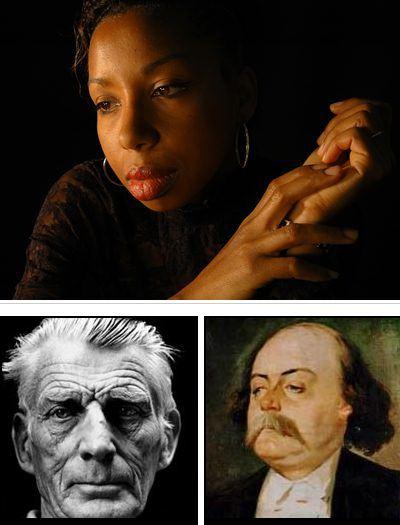 NDiaye, Beckett, Flaubert